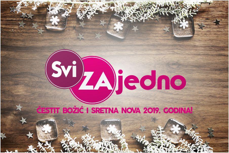 """Projekt """"Svi ZAjedno"""" slavi prvi Božić i Novu godinu"""