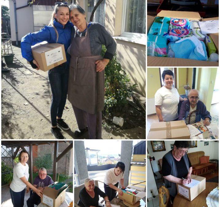 Dostava paketa s kućanskim i higijenskim potrepštinama u listopadu 2019. godine
